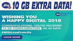 Jio Happy Digital 2018 Offer -New Year Offer-Extra 10GB ...