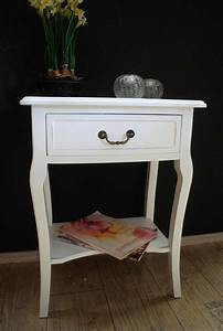 Beistelltisch Weiß Vintage : beistelltisch kommode nachttisch tisch antik wei landhaus ad65 schlafzimmer pinterest ~ Yasmunasinghe.com Haus und Dekorationen