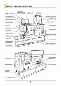 Baby Lock Quest Blq2 Sewing Machine Instruction Manual