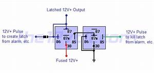 Latched On  Off Output Using Two Momentary Positive Pulses