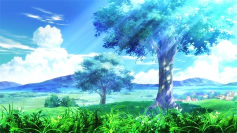 Scenery Anime Wallpaper - anime scenery desktop background wallmeta anime