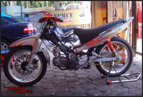 Jupiter Z Road Race Terbaru by Gambar Modifikasi Motor Yamaha Jupiter Z Road Race Tercepat