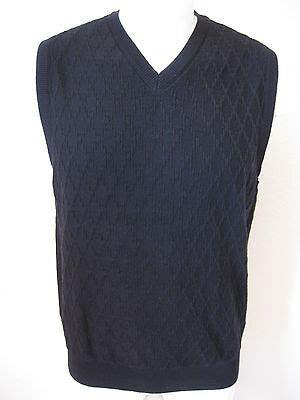 mens sweater vest  tasso elba black classic woven