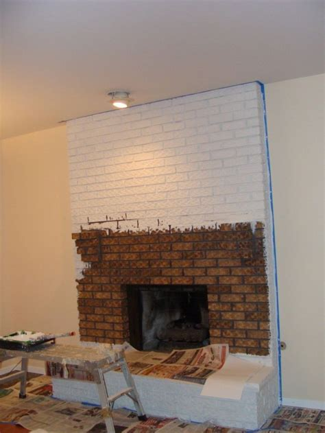 white fireplace paint painted white brick fireplace fireplace in 2019 paint