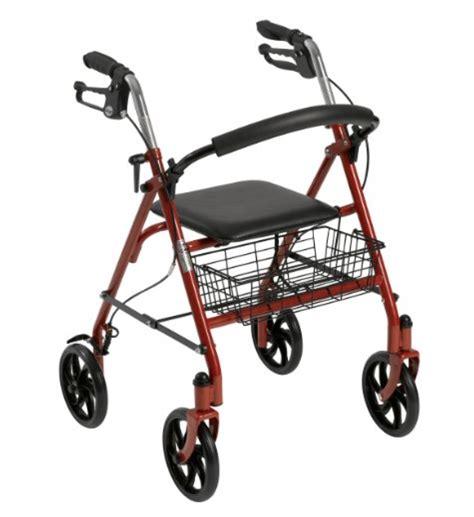 walker elderly traveling