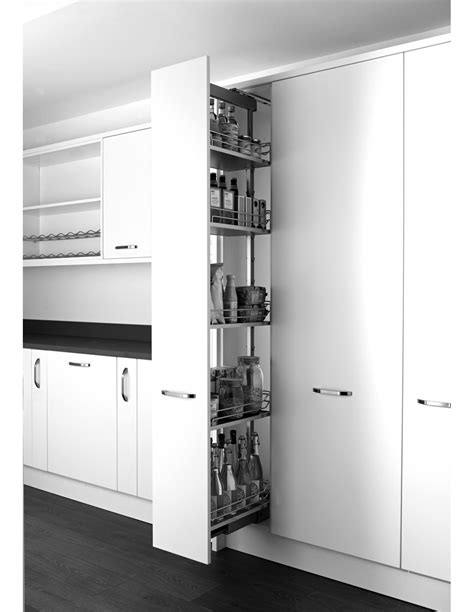 KLF300FESC Kessebohmer Tall Pull Out Larder For Kitchens