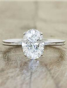 oval diamond double band engagement ring beautiful With wedding band for oval engagement ring