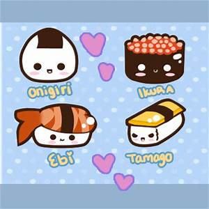 Cute Sushi Friends by Tsubaki-Akia on DeviantArt