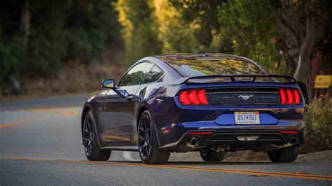 ford mustang ecoboost 2018 2018 ford mustang ecoboost review magnetic suspension is