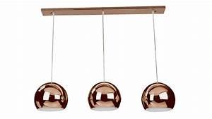 Lustre En Cuivre : lustre en cuivre lustre lampe triloc ~ Teatrodelosmanantiales.com Idées de Décoration