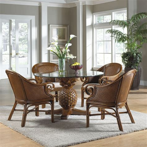 sunset reef 5 dining set pineapple table 4 club