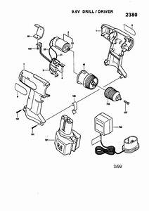 Skil 9 6v Drill  Driver Parts