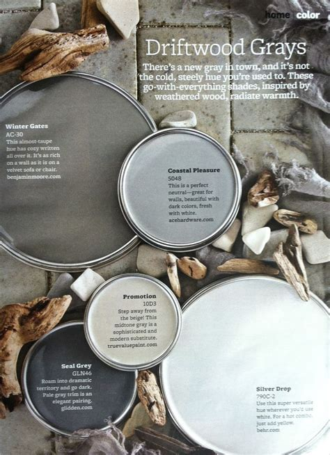paint color driftwood gray paint palette driftwood grays interiors by color