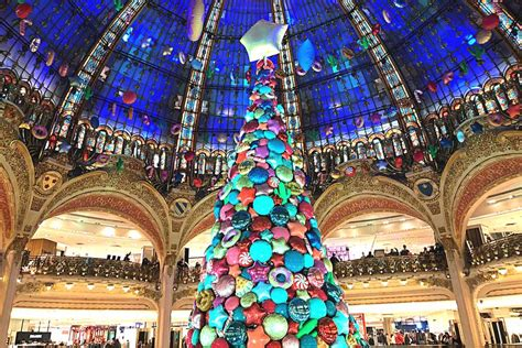 galeries lafayette paris christmas decorations svenska