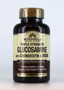 Triple Strength Glucosamine With Chondroitin  U0026 Msm