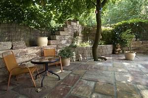 Steinmauer Garten Sichtschutz Gartendekorationen : sichtschutz zum nachbarn ideen terrasse und balkon mein eigenheim nowaday garden ~ Sanjose-hotels-ca.com Haus und Dekorationen