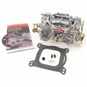 Edelbrock 1407 Performer 750 Cfm Vacuum Secondary Manual