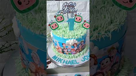 Cake art in singapore has been taken to a whole new level. Cocomelon Birthday Cake No Fondant - Amazon Com Kapokku ...