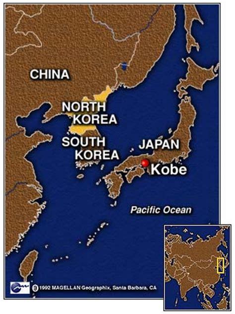 Kobe Japan Map for Pinterest