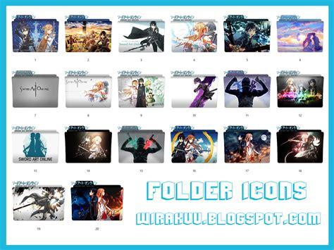 Anime Icons 2017 Windows 10 20 Folder Icons Anime Sword Windows 7 8 10