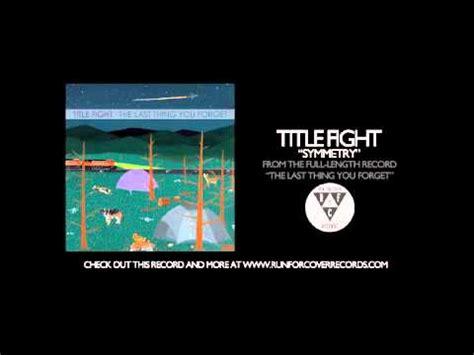 Trash Boat How Selfish I Seem Lyrics by Trash Boat Symmetry Acoustic Title Fight Cover