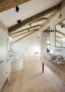 Sol Bois Salle De Bain : salle de bain sol bois ~ Premium-room.com Idées de Décoration