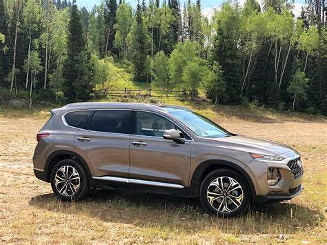 First Drive 2019 Hyundai Santa Fe Thedetroitbureaucom