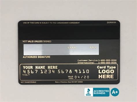 Instant quality results at searchandshopping.org! Matte-Black Template #1 - Custom Metal Credit Cards