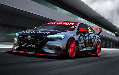 2018 holden commodore supercar race car revealed performancedrive