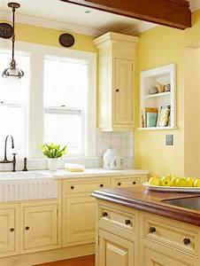 kitchen cabinet color choices galley kitchens and nook With kitchen colors with white cabinets with art wall plates