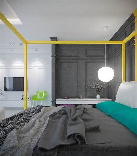 A Pair Of Modern Homes With Distinctively Bright Color Themes by A Pair Of Modern Homes With Distinctively Bright Color Themes