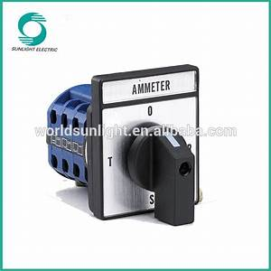 Lw26-10x 10a Auto Rotary Manual Changeover Switch