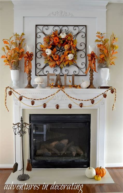 Ideas For Mantels by Best 25 Fall Fireplace Decor Ideas On Fall