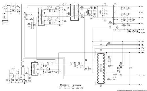 Maxpower Power Supply Sch Service Manual