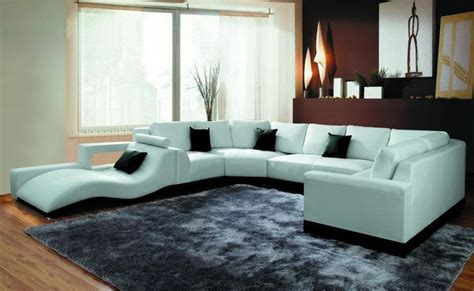 modern spacious sectional sofa   chase