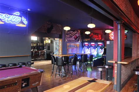 Parlor, A Bar With Arcade Games, Now Open In The Grove