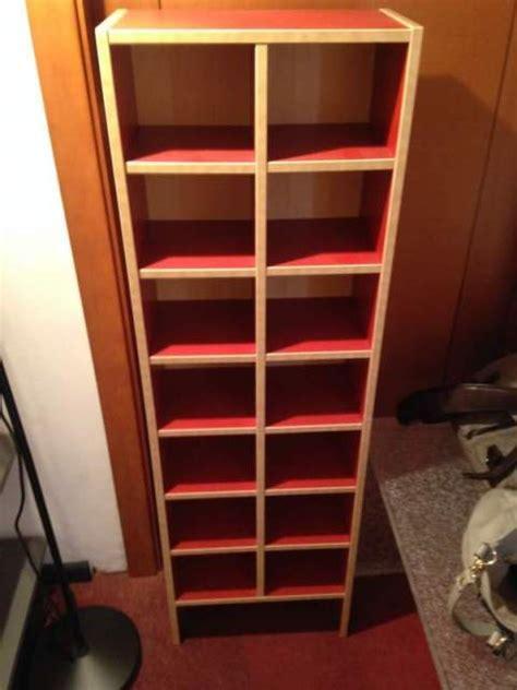 Porta Cd Ikea libreria porta cd billy ikea rosso faggio a genola