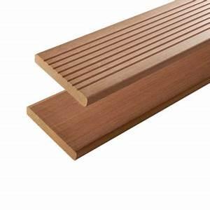 Lame De Terrasse Bricomarché : lame de terrasse bois exotique mukulungu x 14 5 cm ~ Dailycaller-alerts.com Idées de Décoration