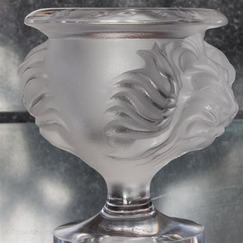 lalique vase antiques atlas lalique clear vase with