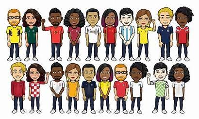 Bitmoji Snapchat Nike Adidas Team Football Avatar