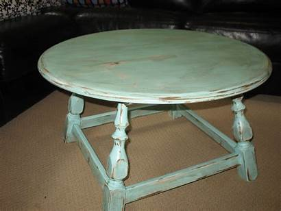 Coffee Table Distressed Round Tables End Wood