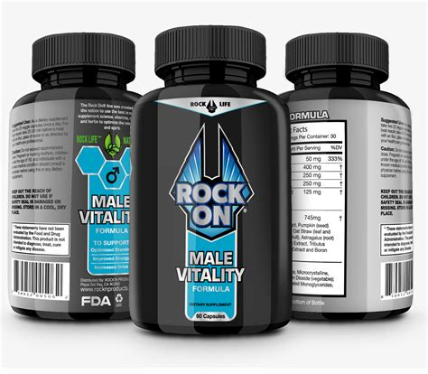 rock on male vitality 3 pack