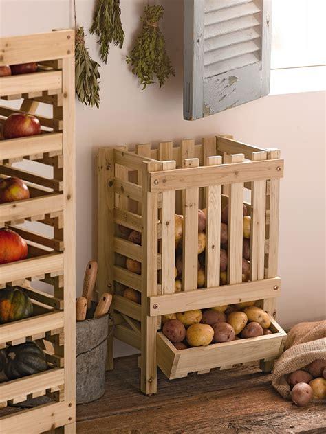 wood potato bin wood potato storage bin gardeners supply