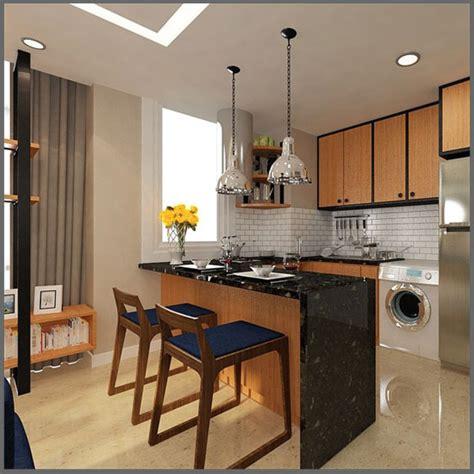desain interior dapur minimalis sederhana kecil terbaru jasa