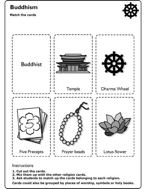 schools religion worksheet bodhi day