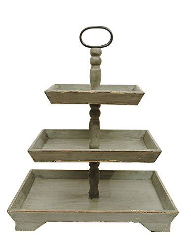 tier tray stand  tier rectangular serving platter  tiered cake tray stand food server