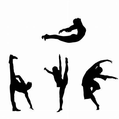 Dance Modern Clipart Dancer Danse Icon Cliparts