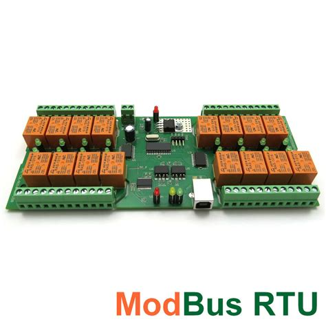 Modbus Rtu Usb Channel Relay Module Board For Home