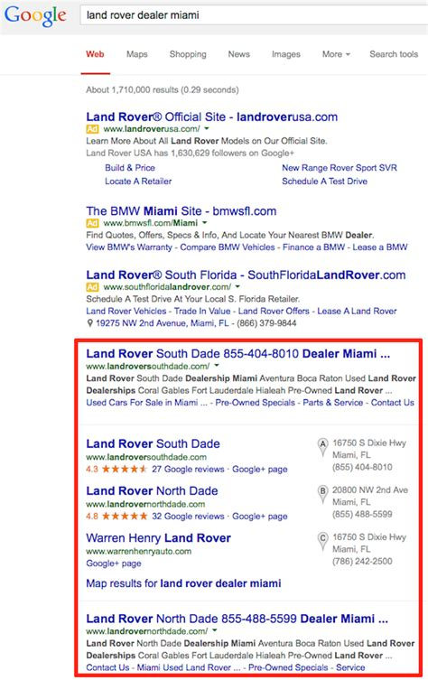 Seo Results by How To Improve Local Seo Results