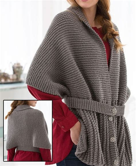 sweater knitting pattern 17 best ideas about scarf cardigan on ponchos